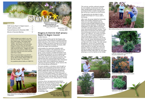 SGAP Kingaroy Newsletter